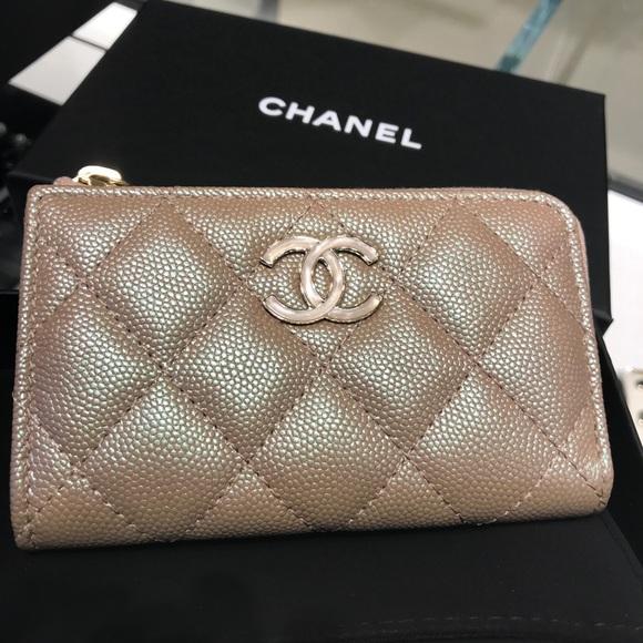 8b634edc23db CHANEL Bags | 19s Pearly Beige O Key | Poshmark